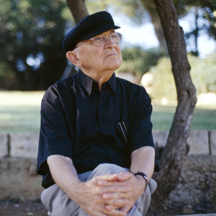L'écrivain israélien Aharon Appelfeld, en 2005.