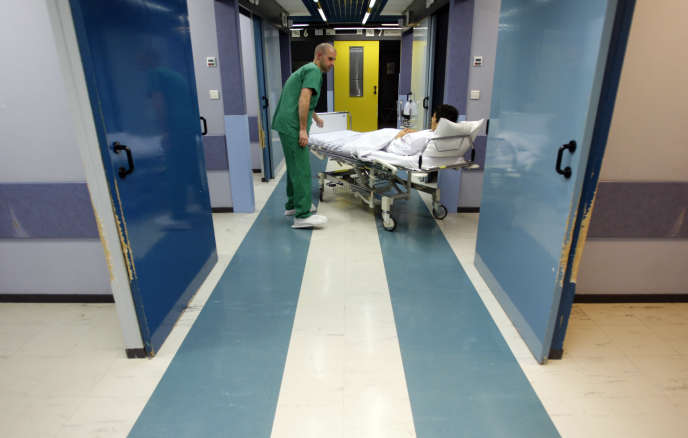 A l'hôpital Ambroise-Paré de Marseille, en mars 2008.