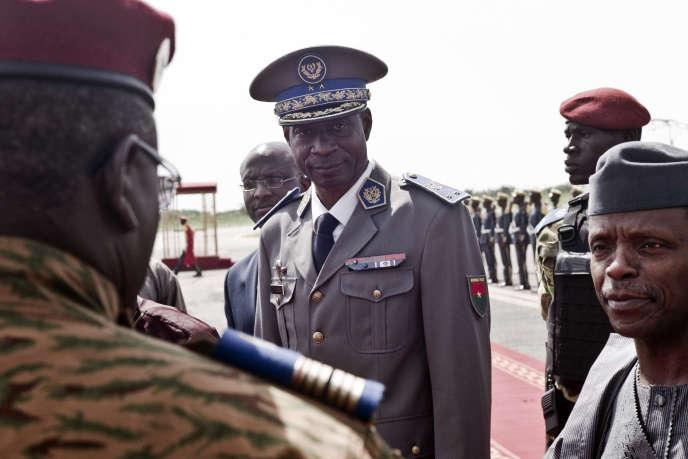 Le général Gilbert Diendéré, le 23septembre 2015.