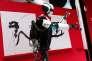 e robot 5G du japonais Docomo, au Mobile World Congress, à Barcelone, le 26 février.