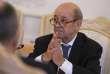 Jean-Yves Le Drian, le chef de la diplomatie française, en février 2018.