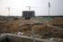 Un chantier situé dans la« nouvelle zone de Xiong'an », stoppé sur ordre du gouvernement local, en avril 2017.
