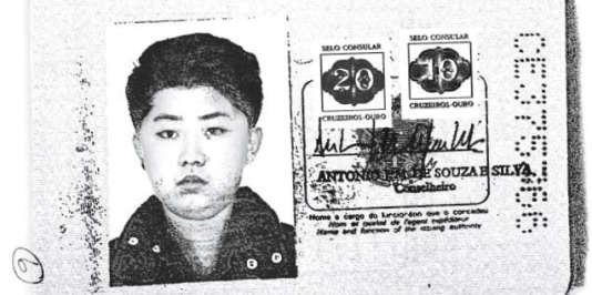 Le passeport brésilien de Kim Jong-un, émis au nom deJoseph Pwag.
