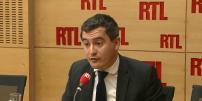 Le ministre de l'action et des comptes publics Gérald Darmanin sur RTL, le 27 février.