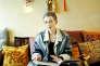 L'écrivaine Hélène Cixous chez elle, en 2014.