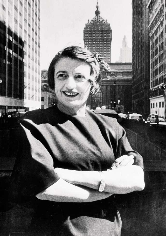 Depuis sa mort en1982, Ayn Rand demeure omniprésente dans la vie publique et politique américaine.