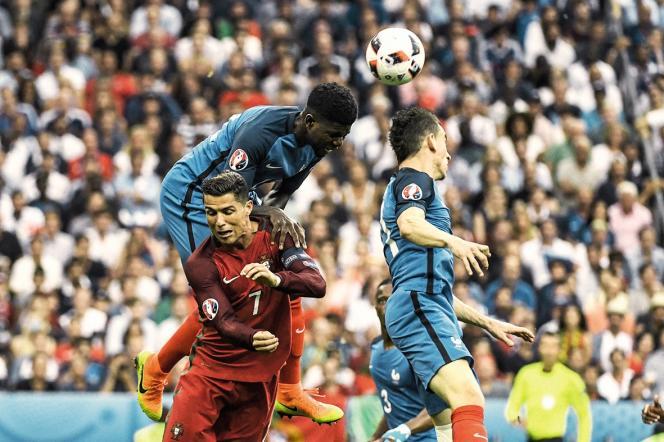 Finale de l'Euro 2016 entre la France et le Portugal, le 10 juillet 2016, au Stade de France.