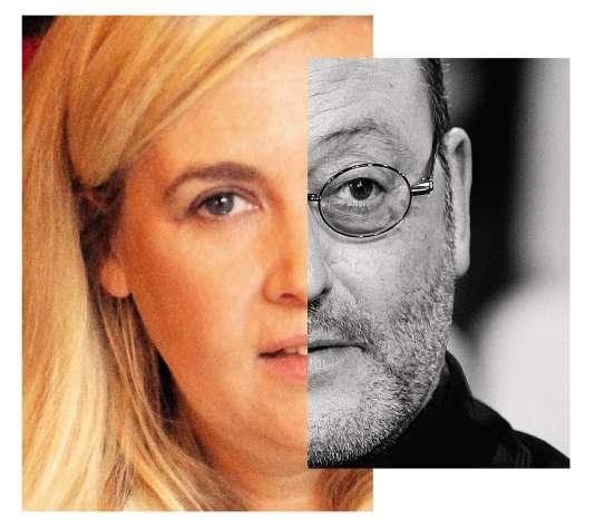 La cheffe Hélène Darroze et l'acteur Jean Reno sont deux soutiens de Laeticia Hallyday.