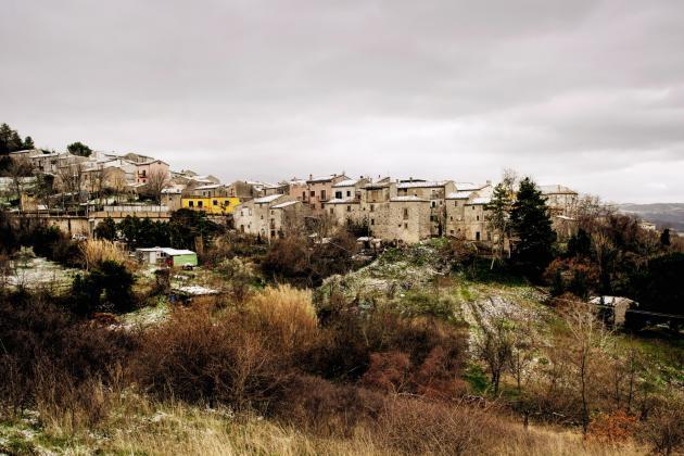 Ripabottoni, dans la région du Molise, dans le sud de l'Italie, 504 habitants d'après les statistiques officielles.