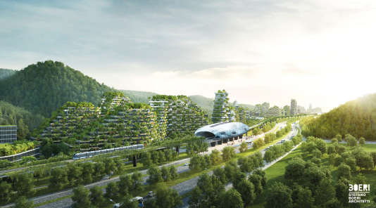 Projet pour la ville de Liuzhou, en Chine.