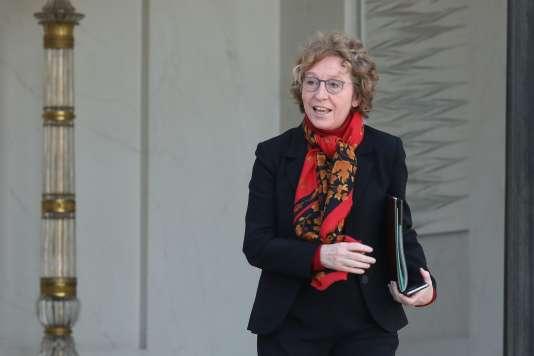 La ministre du travail, Muriel Pénicaud, à l'Elysée le 28 février.