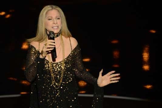 La chanteuse Barbra Streisand à Hollywood, en février 2013.