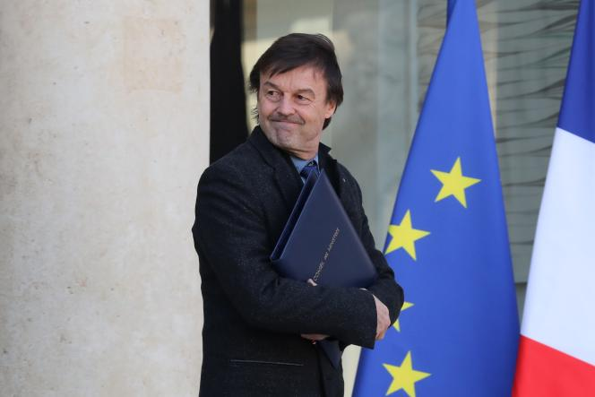 Nicolas Hulot le 28février2018.
