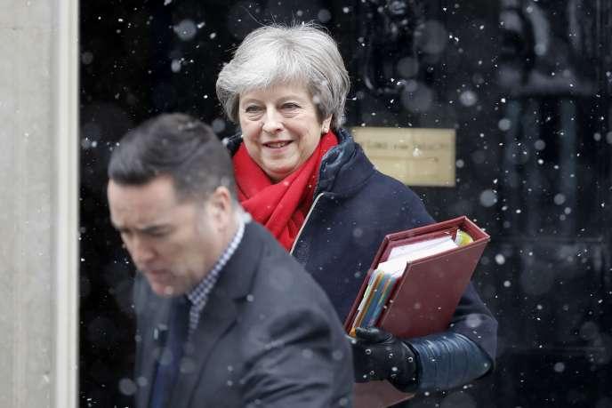 La première ministre britannique Theresa May, le 28 février à Londres.