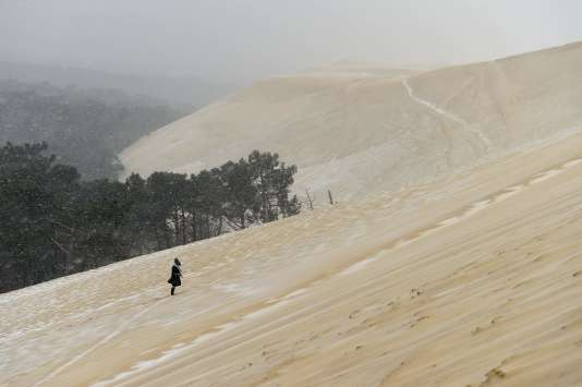 La dune du Pyla, le 28 février 2018.