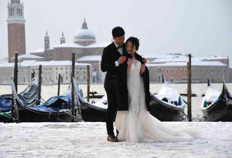 A Venise, en Italie, le 28 février.