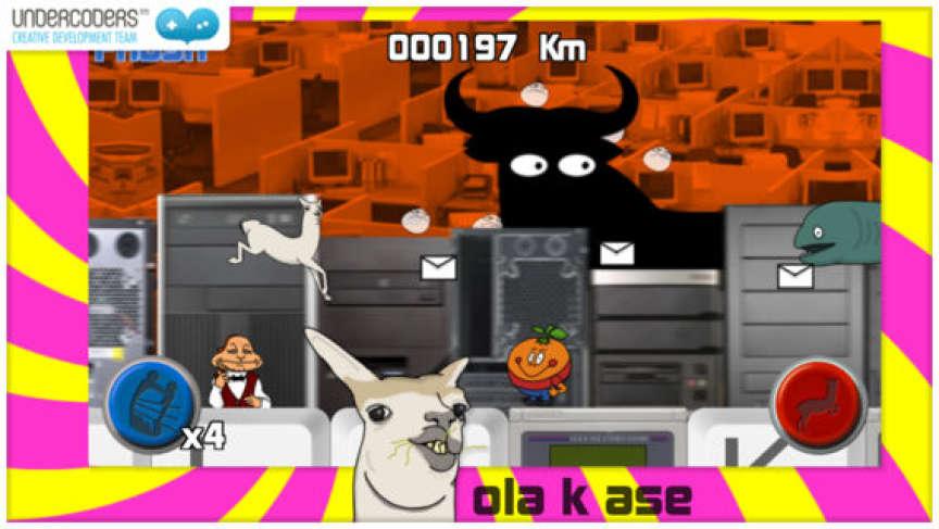«Ola k ase play or what», bel exemple de la culture du collage propre à Internet, et qui s'immisce dans certains jeux vidéo.