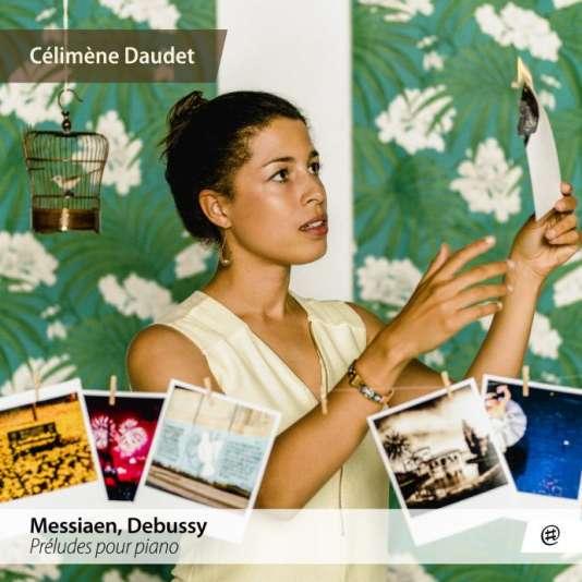 Pochette de l'album« Préludes pour piano », deCélimène Daudet.