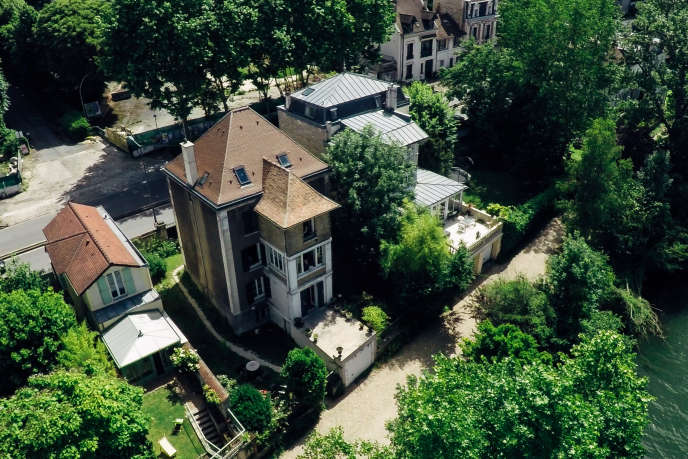 La demeure de Georges Bizet, à Bougival, en juin 2017.