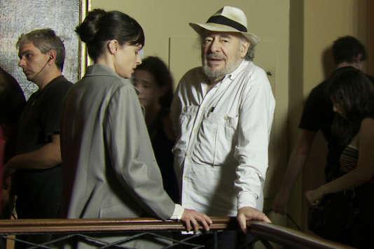 Le cinéaste franco-argentinHugo Santiago.