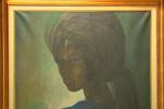Peint en 1970 par l'artiste moderne nigérian Ben Enwonwu, ce tableau représentant la fille du dernier chef traditionnel de la ville d'Ife, Adetutu Ademiluyi, a été retrouvé à Londres près de quarante ans après sa disparition.