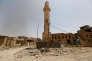 A Fallouja, en juin 2016, après la reprise de la ville aux djihadistes de l'organisation Etat islamique.