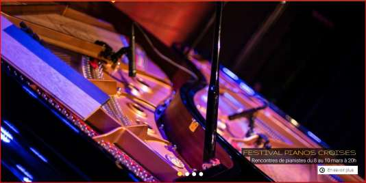 le festival Pianos croisés, au Triton (capture d'écran).