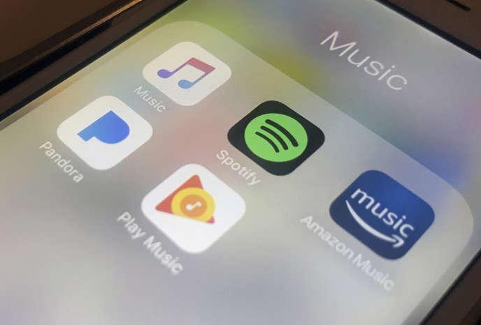 Aux Etats-Unis, 35,3 millions de personnes utilisent des plates-formes de streaming musical.