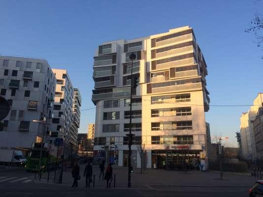 Immeubles neufs dans le 17e arrondissement de Paris.