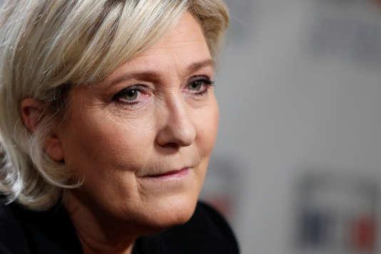 « Le JDD annonce que je suis la cible d'un contrôle fiscal ? ! Première nouvelle ! Mais ça manquait en effet au tableau des persécutions », écrit Marine Le Pen, sur Twitter.