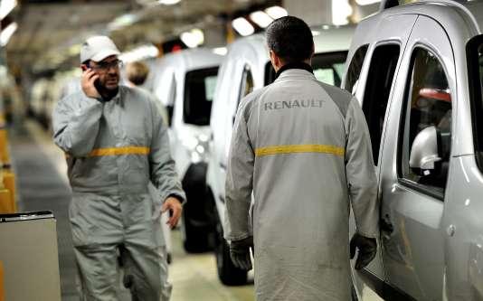 A l'usine Renault de Maubeuge (Nord), en 2012.