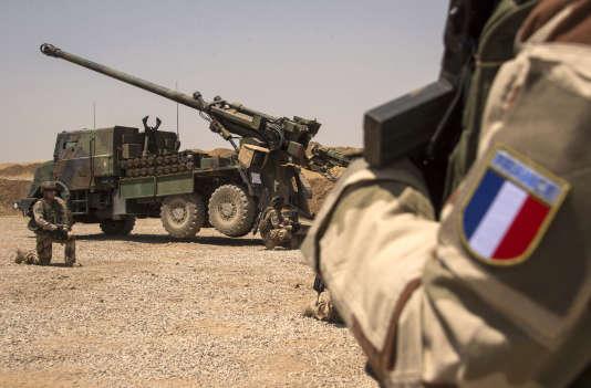 Des soldats français déployés à Mossoul (Irak), le 13 juillet 2017.