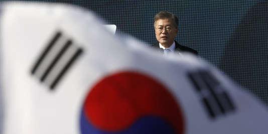 Le président sud-coréen Moon Jae-in a cherché à se servir des JO pour ouvrir le dialogue entre le Nord et Washington