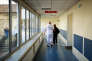 27 Février, 2018 - 58500 Clamecy. --  STORY: fermeture des urgences de nuit de l'hôpital de Clamecy.--  PHOTO: Service des urgences de l'hôpital de Clamecy.--  Photographer: Julie Glassberg pour Le Monde.--
