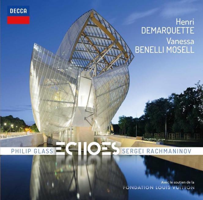 Pochette de l'album« Echoes», par Henri Demarquette (violoncelle) et Vanessa Benelli-Mosell (piano).