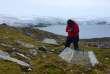 Mesures de températures en Antarctique, le 2 février.