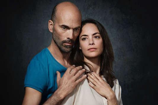 Le chorégraphe Sylvain Groud et la comédienne Bérénice Bejo.