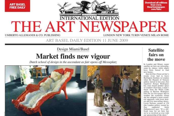 Fondé en 1990, «The Art Newspaper» est propriété de la milliardaire russe Inna Bazhenova.