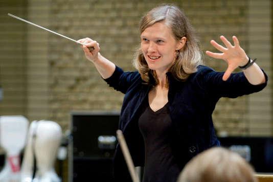 La cheffe d'orchestre Mirga Grazinyte-Tyla.
