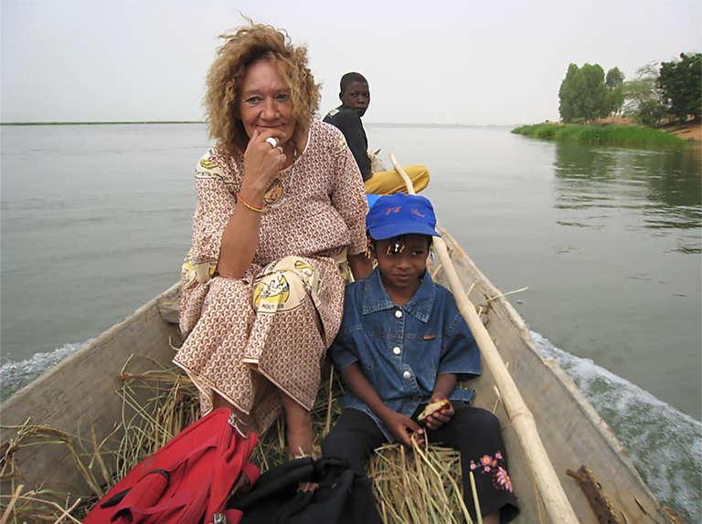 Photographie non datée de l'otage française au Mali Sophie Pétronin.