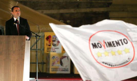 Luigi Di Maio espère capitaliser sur le vote des jeunes pour parvenir à la majorité.