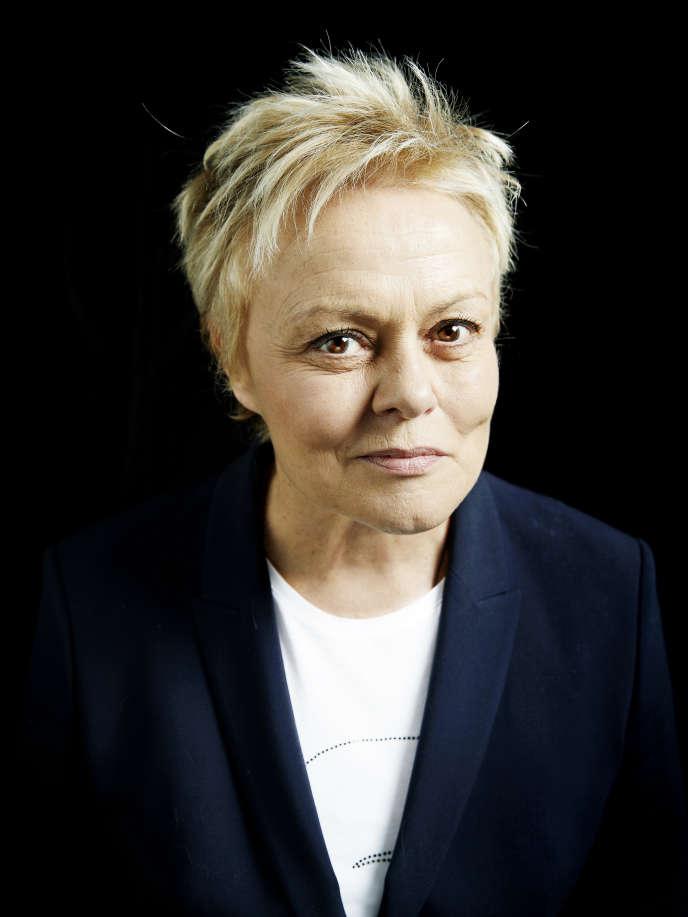 Muriel Robin à Paris, le 1er mars.