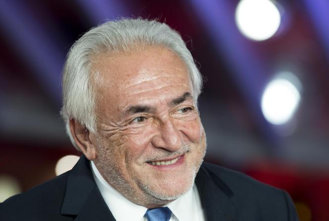 Dominique Strauss-Kahn,le 5 décembre 2016.