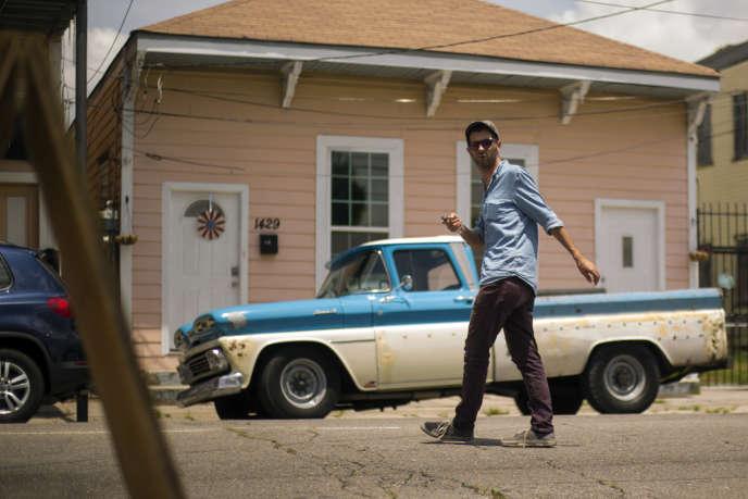 Hugh Coltman à La Nouvelle-Orléans en juin2017.