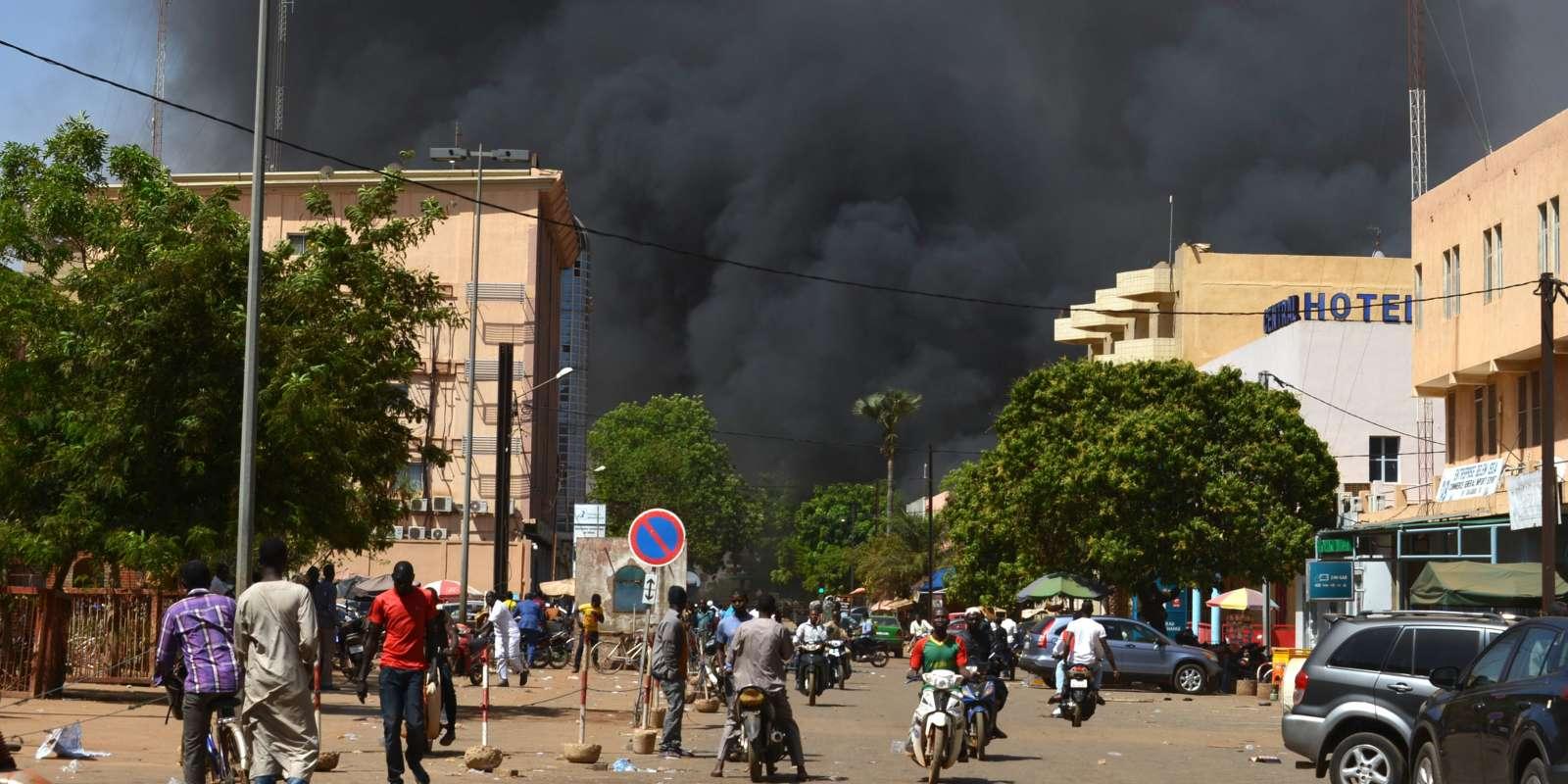 A Ouagadougou, dans la capitale du Burkina Faso, le 2 mars.