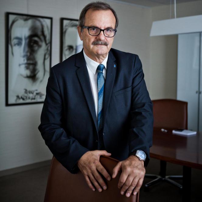 Jean-François Carenco, président de Coallia, qui héberge de nombreux migrants, en octobre 2017.