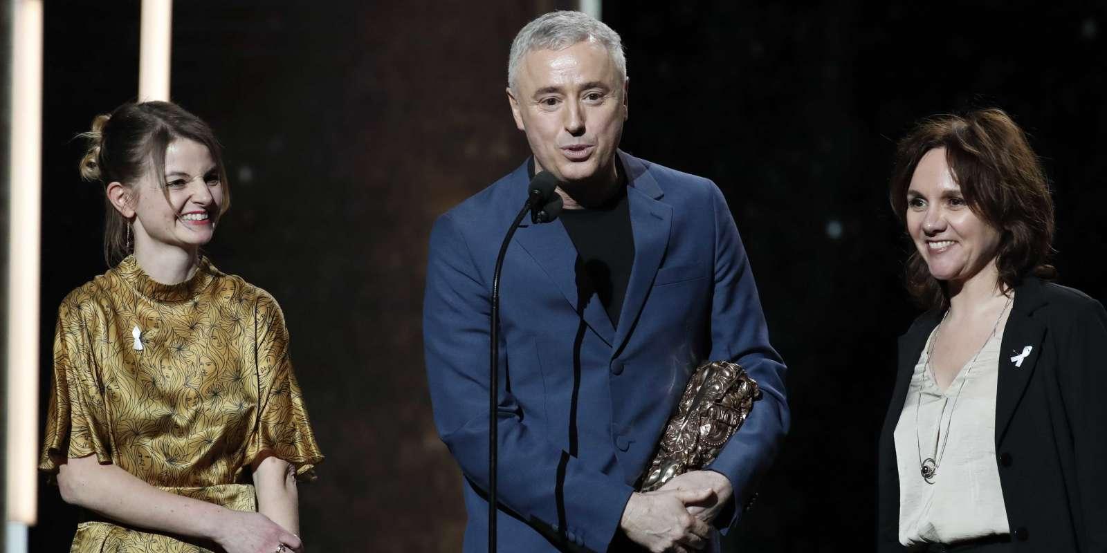 Le réalisateur Robin Campillo lors de la 43e cérémonie des Césars à Paris, le 2 mars 2018.
