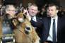 Emmanuel Macron au Salon de l'agriculture, le 24 février.