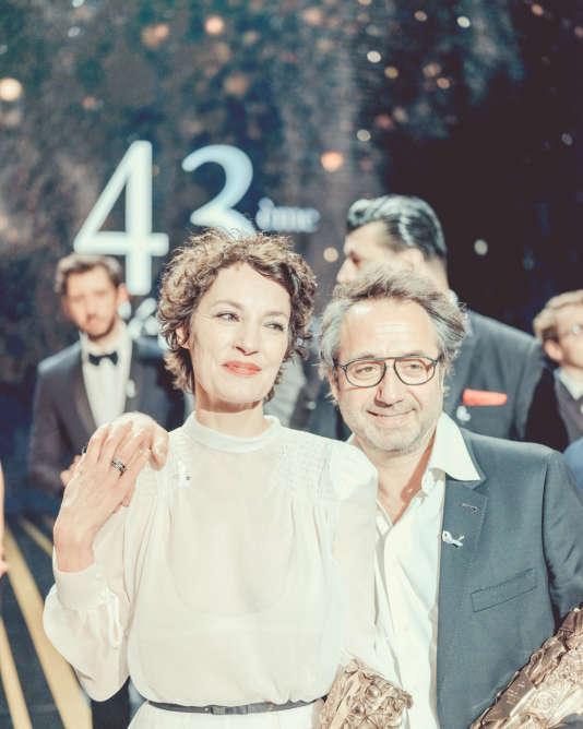 Jeanne Balibar, César de la meilleure actrice pour son rôle dans « Barbara ».