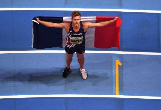 Pour 44 centièmes, Kevin Mayer est devenu champion du monde de l'heptathlon en salles.
